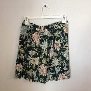Xhilaration Floral Skirt